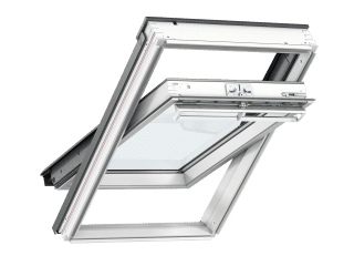 VELUX - GGL CK02 2070 - White-Painted Pine, Centre-Pivot, lam glazing/toughened outer 55x78