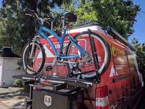 Aluminess Bike Rack Swing Arm For Sprinter Slimline