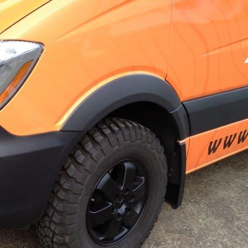 Terrawagen Sprinter Wheel Arch Armor 07 18 ( Front Pair Fender Flares )