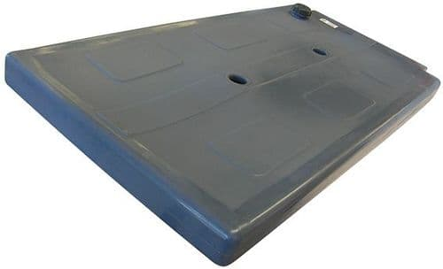 Upracks Roof Rack Water Tank 123X60X9 Slim 50Lt.
