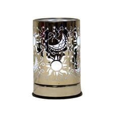 Aromatize White LED MOON & STARS Cylinder style Electric wax melt tart burner/light