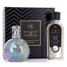 Ashleigh & Burwood Fragrance  Lamp Gift Set -  Fairy Ball & Fresh Linen Lamp Oil