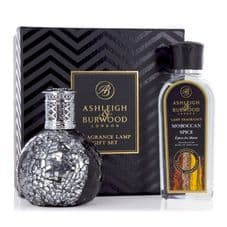 Ashleigh & Burwood Fragrance Lamp Gift Set -  Little Devil & Moroccan Spice Lamp Oil