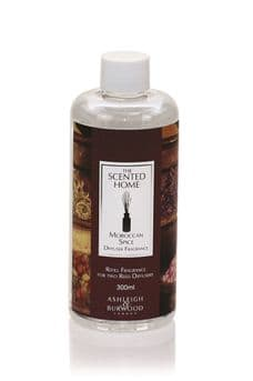 Ashleigh & Burwood MOROCCAN SPICE 300ml Reed Diffuser Refill Fragrance Oil