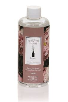 Ashleigh & Burwood PEONY 300ml Scented Reed Diffuser Refill Fragrance Oil