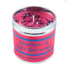 Best Kept Secrets HEATHER and WILD BERRIES Candle Tin - Seriously Scented! 50hrs