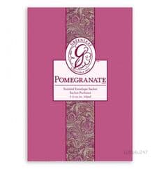 Greenleaf & Bridgwater POMEGRANATE  Large Scented Envelope Sachet