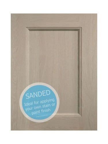715x277x20mm Wall corner door solution, pair  Mornington Beaded Sanded Door