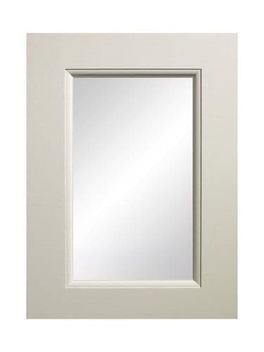 895x497mm, clear glazed Mornington Beaded Porcelain Feature Door