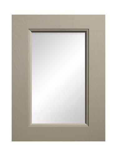 895x497mm, clear glazed Mornington Beaded Stone Feature Door
