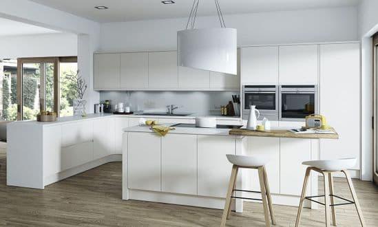 Aconbury Matt Light Grey Kitchens
