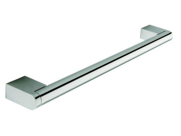 Boss bar handle, 14mm diameter, 337mm long, steel, stainless steel effect - Boss Bar Handles