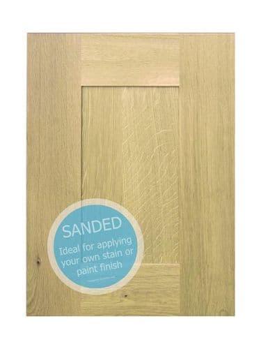 Broadoak Sanded Sample door - 570x397mm