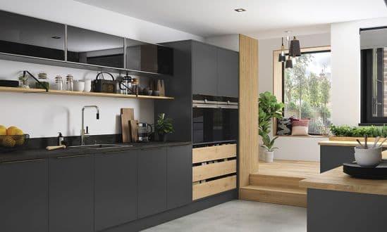Cosdon Matt Graphite Kitchens
