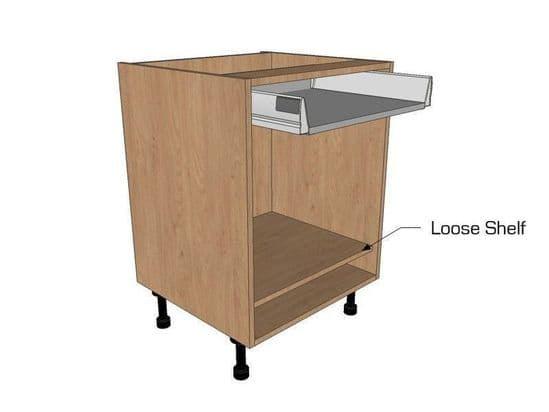 Drawerline Open Shelf Units