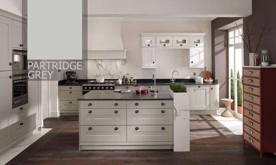 Fitzroy Partridge Grey Kitchens