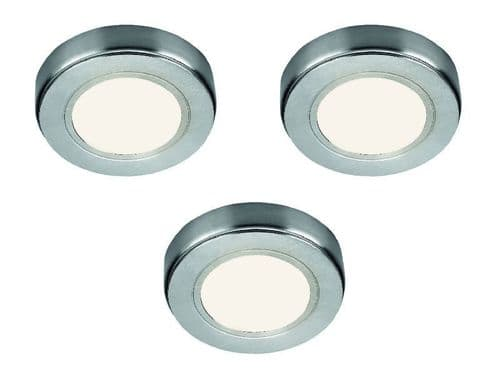 Hype HD LED Recess/Surface Light Cool White, pack of 3 & Driver