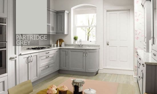 Mornington Beaded Partridge Grey Kitchens