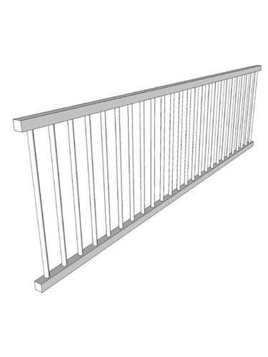 Mornington Beaded Sanded Plate rack, 1200x336mm, Oak
