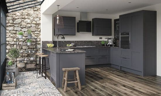 Mornington Shaker Graphite Kitchens