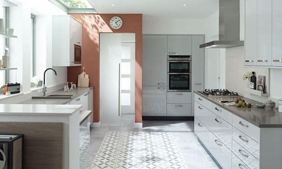 Porter Gloss Dove Grey Kitchens