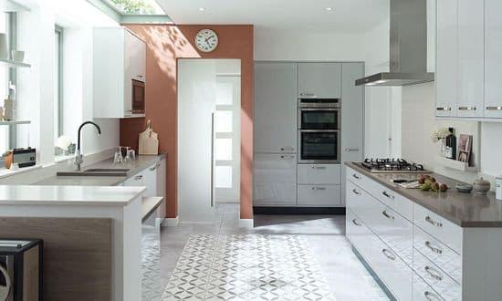 Porter Gloss Dove Grey Kitchens