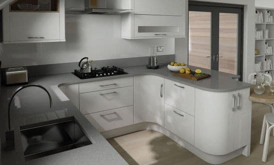 Porter Gloss White Kitchens