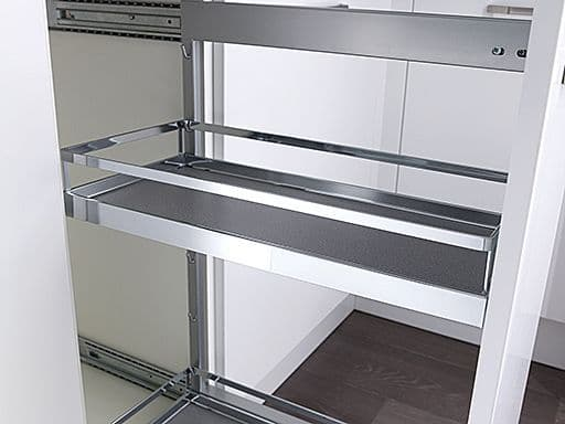 Style additional tray for 300mm wide pull-outs, chrome