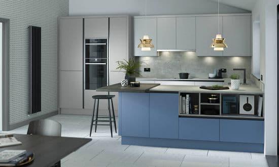 True Handleless Kitchen Doors