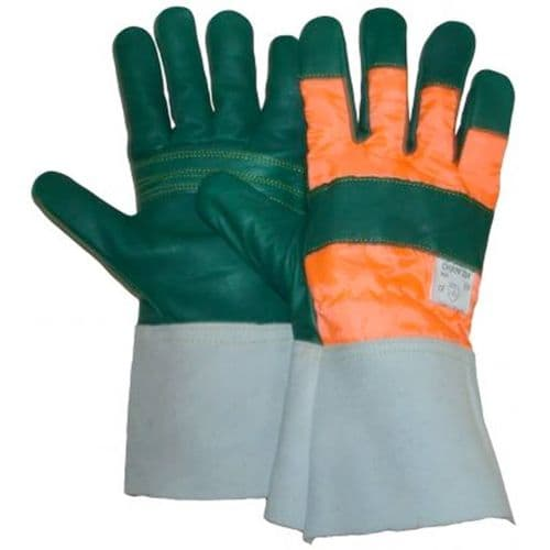 Chainsaw Safety Gauntlet Protective Gloves