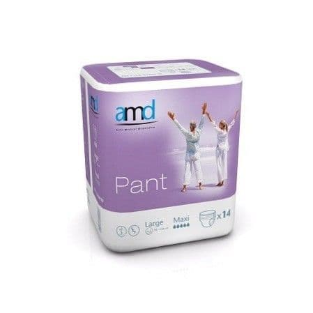 AMD Pant Large Maxi Pullup pants incontinence underwear pads