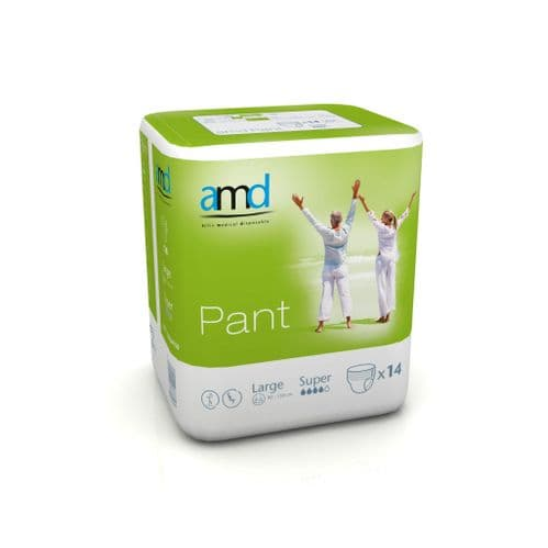 AMD Pant Large Super Pullup pants incontinence underwear pads