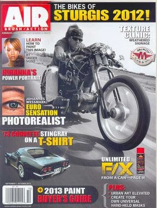 Airbrush Action Magazine - 2012-0910 S/October 2012