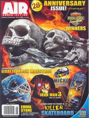 Airbrush Action Magazine - 2013-0506 M/June 2013