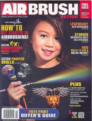 Airbrush Action Magazine - 2013-0910 S/October 2013