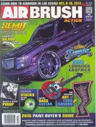 Airbrush Action Magazine - 2014-0910 S/October 2014