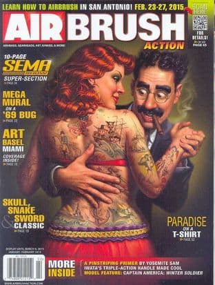 Airbrush Action Magazine - 2015-0102 J/February 2015