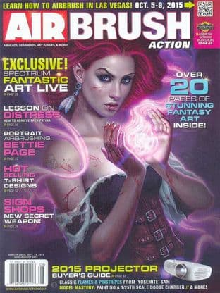 Airbrush Action Magazine - 2015-0708 J/August 2015