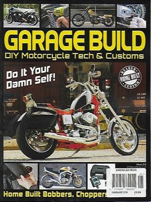 American Iron Garage Magazine - Issue 219