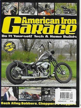 American Iron Garage Magazine - Issue 518