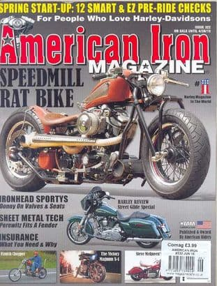 American Iron Magazine - Issue 322