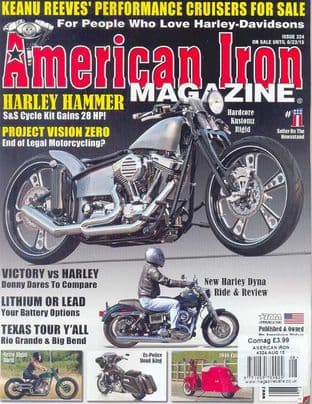 American Iron Magazine - Issue 324