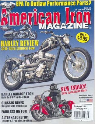 American Iron Magazine - Issue 335