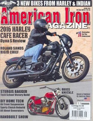 American Iron Magazine - Issue 338