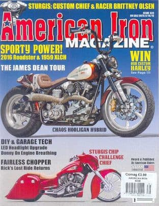 American Iron Magazine - Issue 339