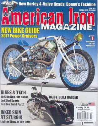 American Iron Magazine - Issue 343