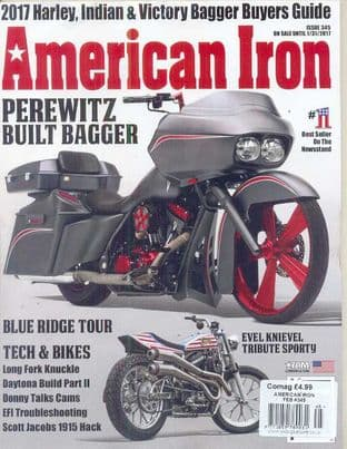 American Iron Magazine - Issue 345