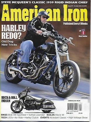 American Iron Magazine - Issue 371