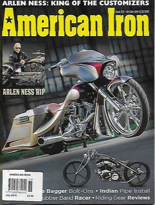 American Iron Magazine - Issue 376