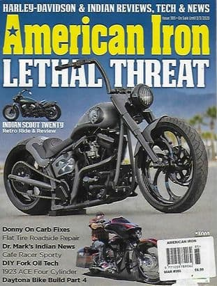 American Iron Magazine - Issue 385